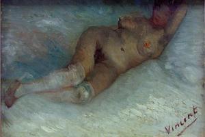 Recumbent Nude by Vincent van Gogh