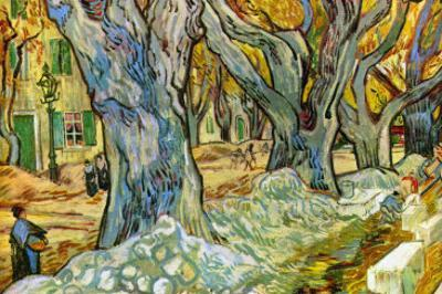 Roadman by Vincent van Gogh