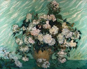 Roses by Vincent van Gogh