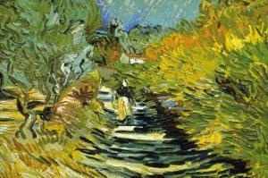 Saint-Remy by Vincent van Gogh