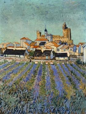 Saintes Maries De La Mer by Vincent van Gogh