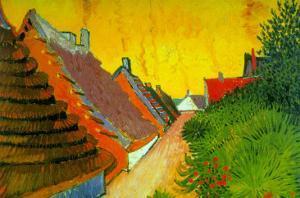 Saintes-Maries Road Through The Town by Vincent van Gogh