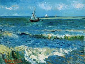 Seascape, 1888 by Vincent van Gogh