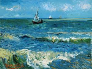 Seascape, 1888 by Vincent van Gogh