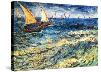Seascape at Saintes-Maries, c.1888 by Vincent van Gogh