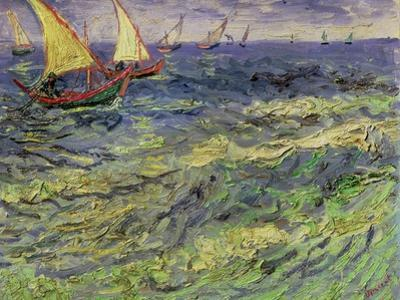 Seascape at Saintes-Maries, c.1888 by Vincent van Gogh