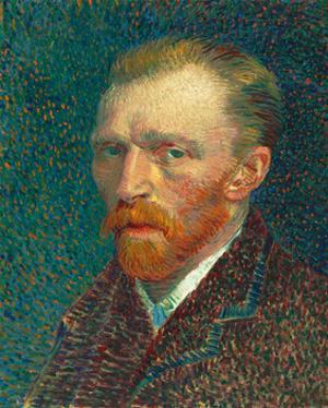 Self Portrait, 1887 by Vincent van Gogh