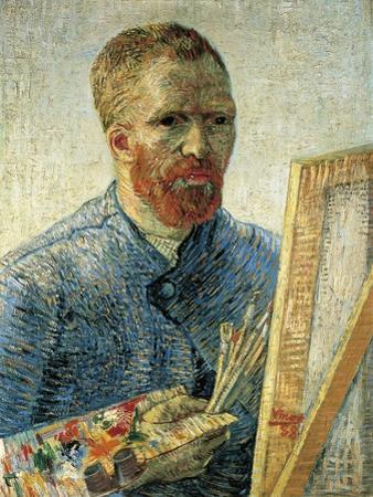 Self Portrait as a Painter, 1888 by Vincent van Gogh