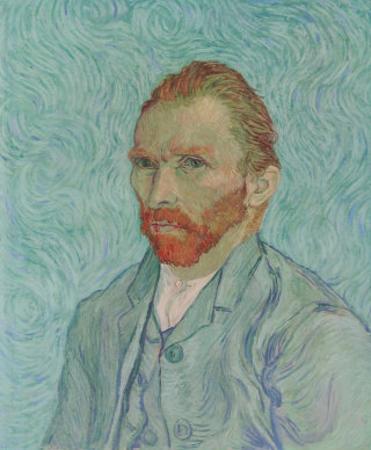 Self-Portrait, c.1889 by Vincent van Gogh