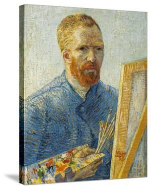 Self-Portrait in Front of the Easel, 1888 by Vincent van Gogh