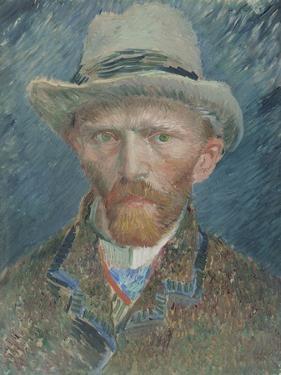 Self-Portrait, Vincent Van Gogh. by Vincent van Gogh