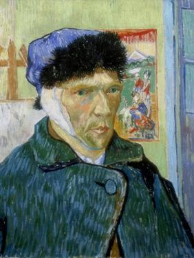Self-Portrait with Bandaged Ear, 1889 by Vincent van Gogh