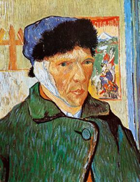 Self-Portrait with Bandaged Ear, c.1889 by Vincent van Gogh