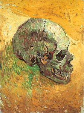 Skull in Profile, 1887 by Vincent van Gogh