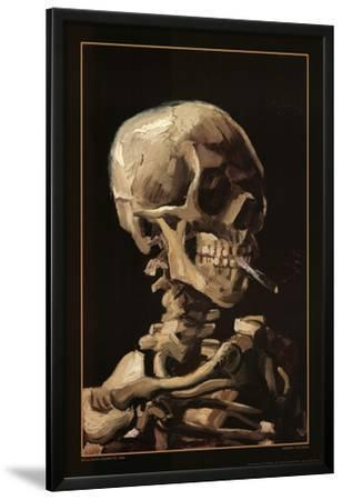 Skull With Cigarette, 1885 by Vincent van Gogh