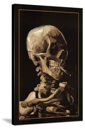 Skull With Cigarette, 1885