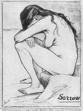 Sorrow, 1882 by Vincent van Gogh