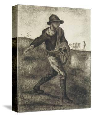 Sower (after Millet) by Vincent van Gogh
