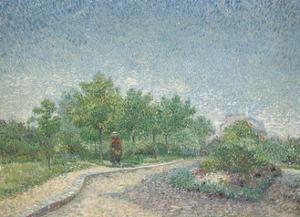 Square Saint-Pierre, Paris, 1887 by Vincent van Gogh