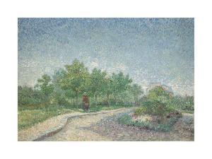 Square Saint-Pierre, Paris by Vincent Van Gogh