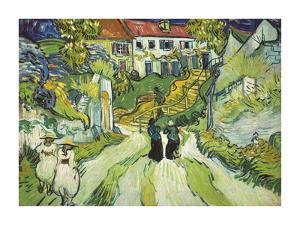 Stairway at Auvers, 1890 by Vincent Van Gogh