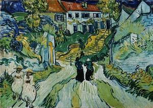 Stairway at Auvers by Vincent van Gogh