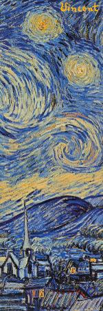 Starry Night, c.1889 (detail) by Vincent van Gogh