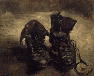 Still Life of Shoes by Vincent van Gogh