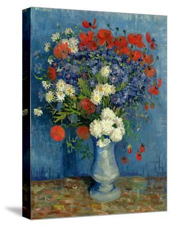 Still Life: Vase with Cornflowers and Poppies, 1887