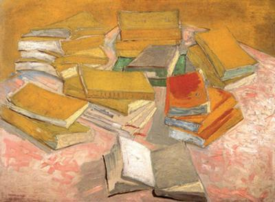 Still Life with Books, 1887 by Vincent van Gogh