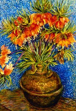 Vincent Van Gogh (Still Life with Crown Imperials in a Bronzevase) Art Poster Print