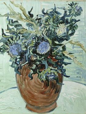 Still Life with Thistles, 1890 by Vincent van Gogh