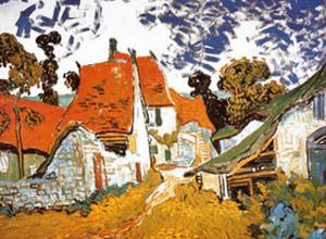 Street in Auvers (Les Toits Rouges), c.1890 by Vincent van Gogh