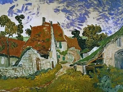 Street in Auvers (Les Toits Rouges), c.1890 by Vincent van Gogh