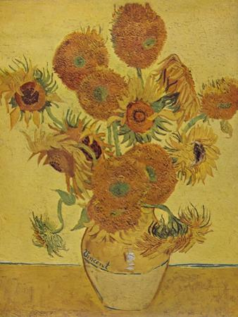 'Sunflowers', 1888 (1935) by Vincent van Gogh