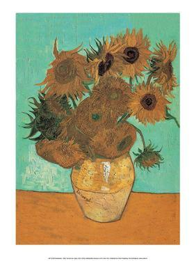 Sunflowers, 1888 by Vincent van Gogh