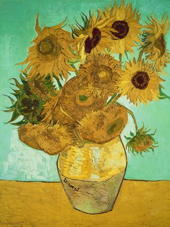 Sunflowers, c.1888 by Vincent van Gogh