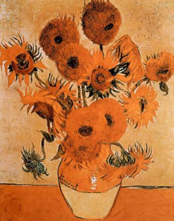 Sunflowers Les Tournesols by Vincent van Gogh