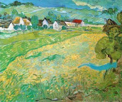 Sunny Meadow in Arles, c.1890 by Vincent van Gogh