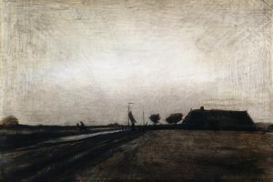 Sunrise; Le Lever Du Soleil, 1883 by Vincent van Gogh