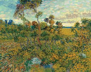 Sunset at Montmajour, 1888 by Vincent van Gogh