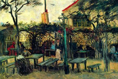 Terrace of a Cafe by Vincent van Gogh