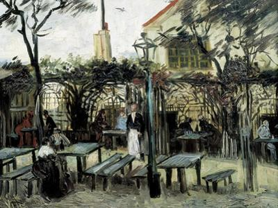 """Terrace of the Café """"La Guinguuette"""" by Vincent van Gogh"""
