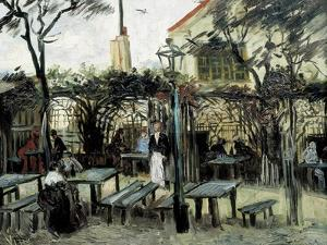 "Terrace of the Café ""La Guinguuette"" by Vincent van Gogh"