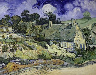 Thatched Cottages at Cordeville, Auvers-Sur-Oise, 1890