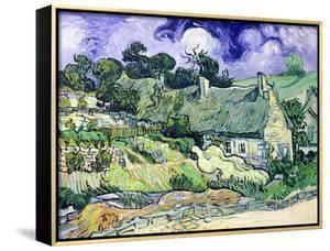 Thatched Cottages at Cordeville, Auvers-Sur-Oise, c.1890 by Vincent van Gogh