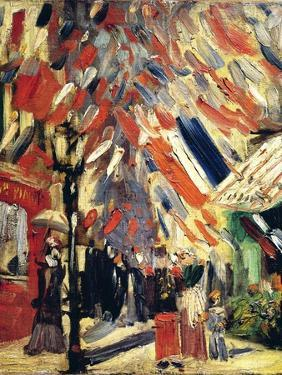 The 14th July, 1886 by Vincent van Gogh