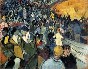 The Arena at Arles by Vincent van Gogh