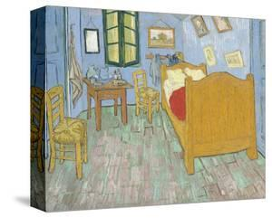 The Bedroom, 1889 by Vincent van Gogh