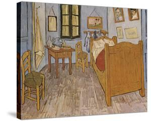 The Bedroom by Vincent van Gogh